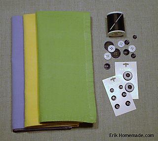Eyeball napkin supplies
