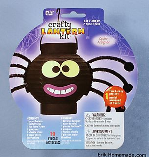 Crafty Lantern Spider kit