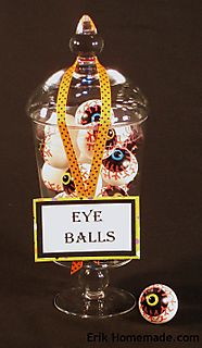 Eyeballs in a jar