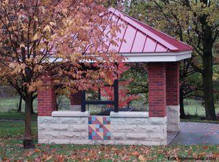 Quilt Block Picnic Pavillion