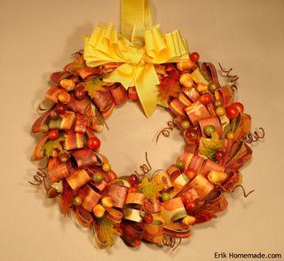 Paper Loop Wreath