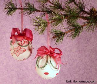 Knit Sock Ornaments