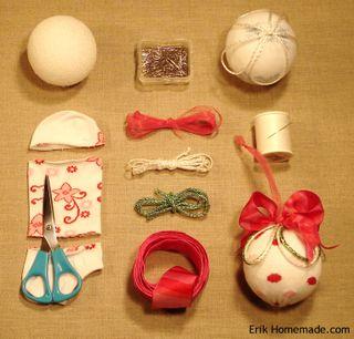 Knit Sock Ornaments Project