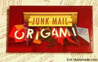 Junk Mail Origami Book
