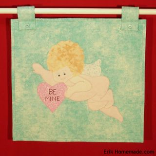 Cupid Wall Hanging-Runner by C A Colucci