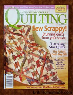 American Patchwork and Quilting June 2009