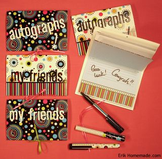Autograph Booklets photo