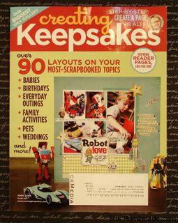 Creating Keepsakes - June 2009 photo