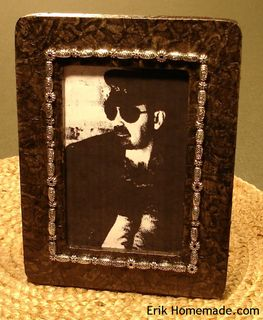 Faux Leather Frame photo