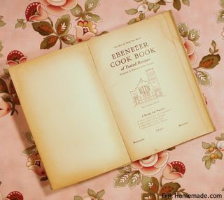 Enbenezer Cook Book Title page