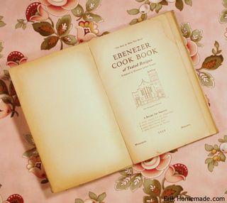Enbenezer Cook Book Title page