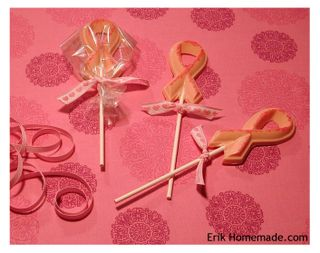 Awareness Ribbon Lollipops photo