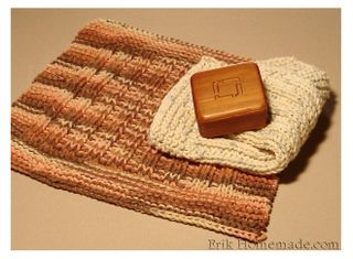 Knit Washcloth photo