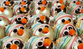 Snowmen Ornaments photo