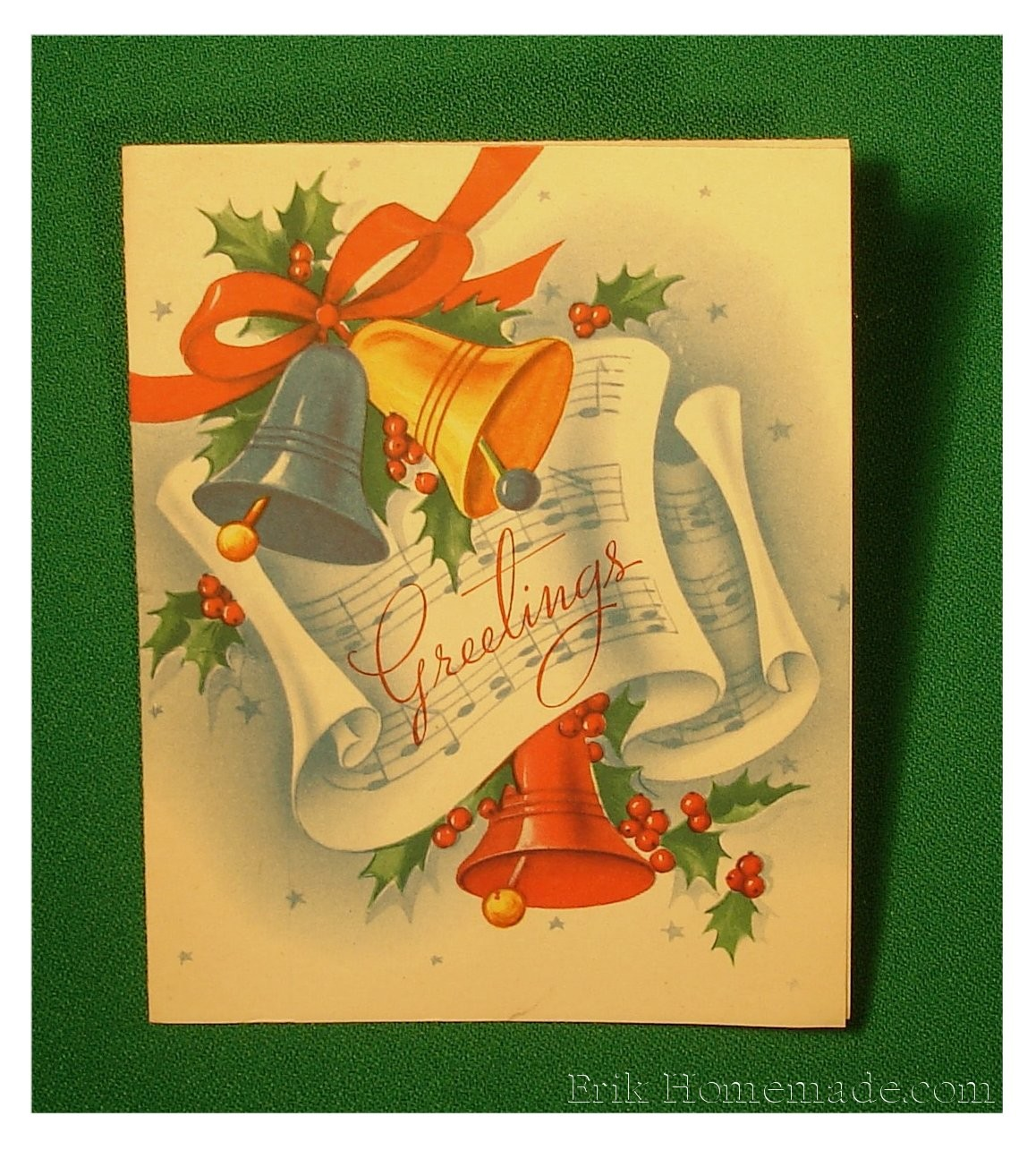 Vintage Greeting Card photo