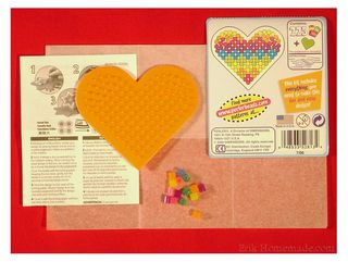 Perler Beads Kit Contents photo