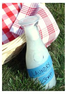 Homemade Liquid Laundry Soap photo