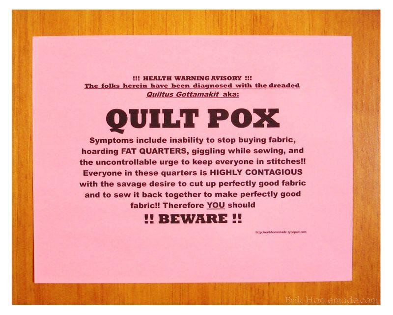 Quilt Pox photo