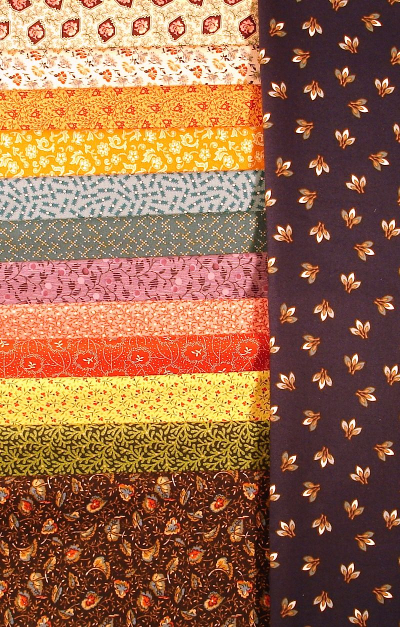 Our SUSANNAH Quilt Fabric photo