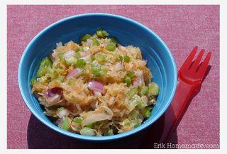 Crunchy Sauerkraut Slaw photo