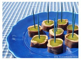 Beefy Sweet Pickle Bites