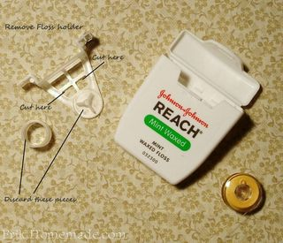 Recycled Thread Caddy Instruction photo