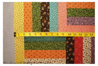 Measuring the quilt photo