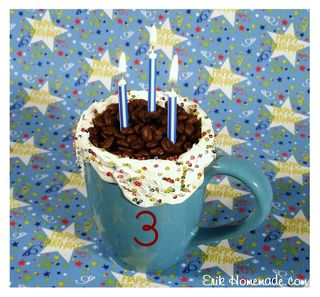 3rd Birthday Post Mug photo