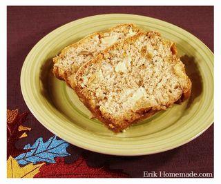 Black Walnut Pear Quick Bread recipe photo