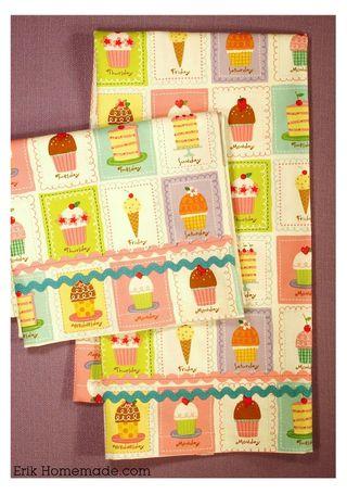 Finished Tea Towels photo