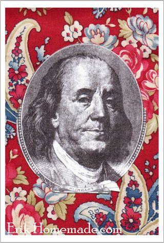 Benjamin Franklin Quilt graphic