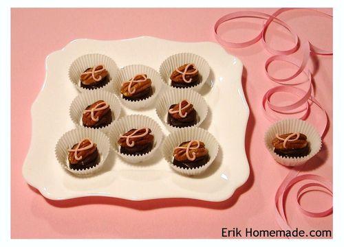 Ribbon Embellished Chocolates photo