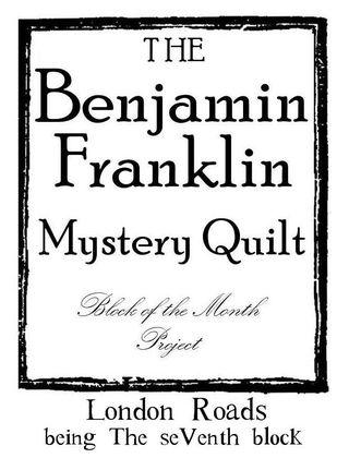 B Franklin Block Number graphic 7