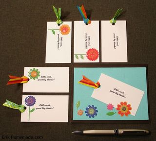Little and BIG Thank You Cards photo