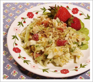 Chicken and Summer Fruit Slaw photo