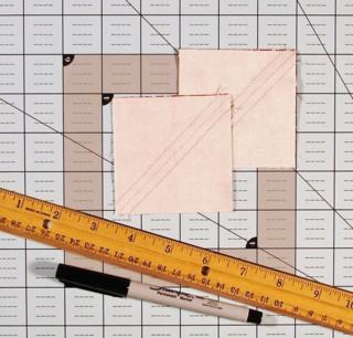 Draw diagonal lines photo