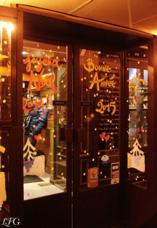 Vitrine Bar Bonne Annee 2015 photo