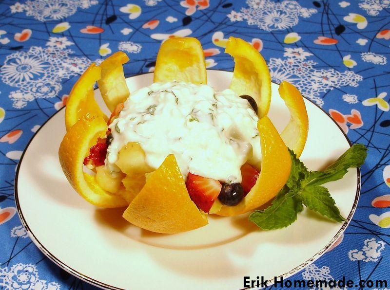 Sunshine Fruit Salad recipe photo