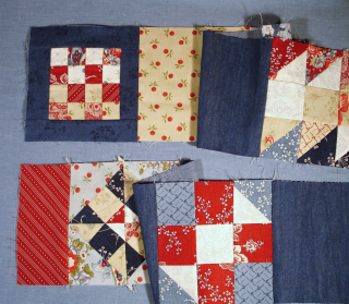 NonTrad Pieced Border started photo