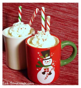 Peppermint Coffee Cream recipe photo
