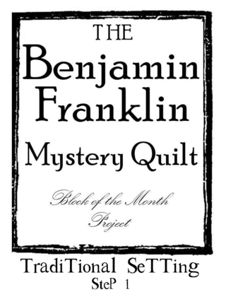 B Franklin Traditional Setting Graphic