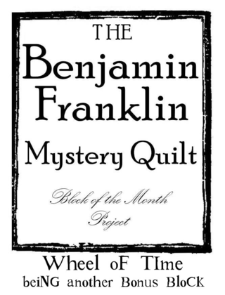 B Franklin Block Number graphic 28