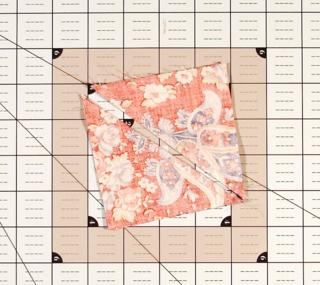 Split the square in two photo