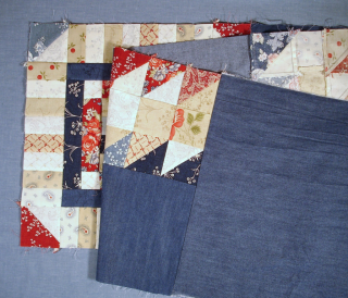 NonTrad Pieced Border ready to sew photo