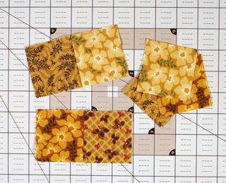 Sew the squares together photo