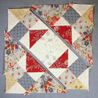 Sew the block together photo
