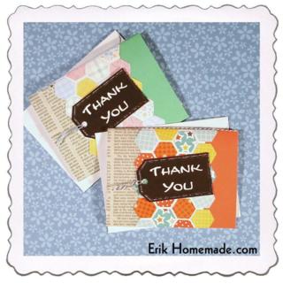 Thank You Hexagon Cards photo