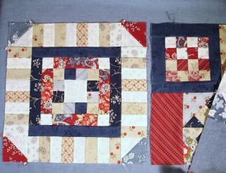 NonTrad 12inch Block sewn photo