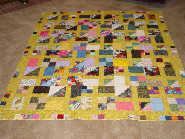 Mary's Scrap Pile Mystery Quilt