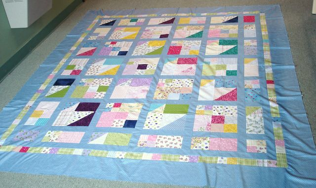 Kathy D's (from Detroit) Scrap Pile Mystery Quilt